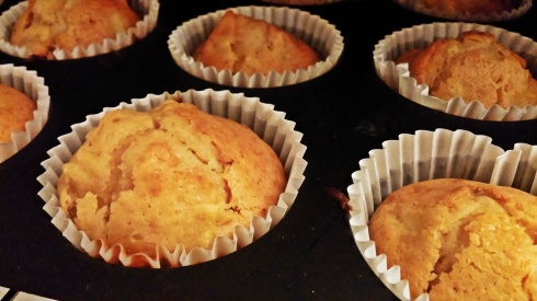 Muffins pomme-caramel